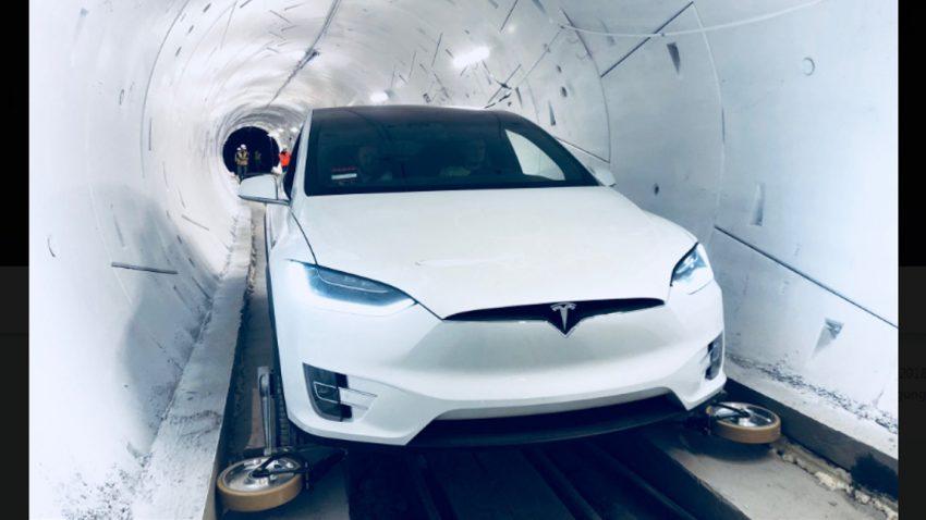 The Boring Company: Elon Musk eröffnet Test-Tunnel unter Los Angeles