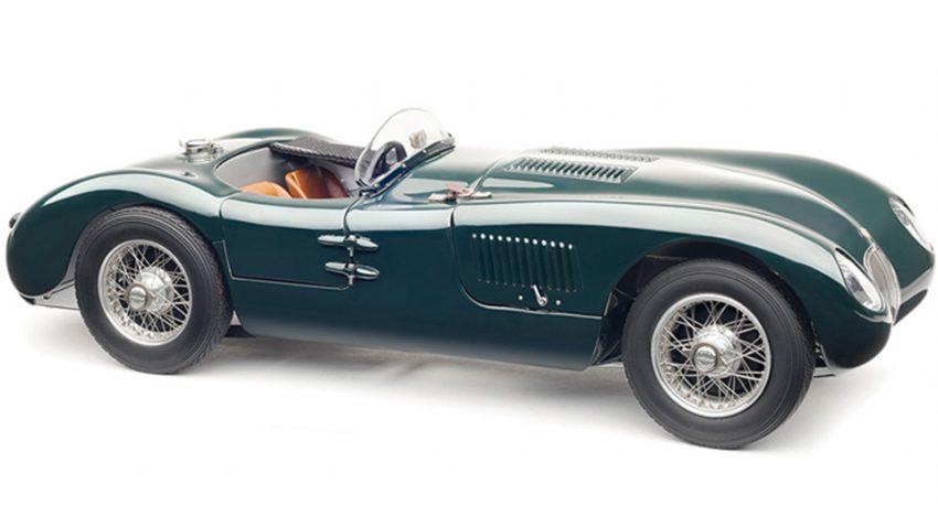 Gewinnspiel: Modellauto CMC Jaguar C Type, 1952 (beendet)