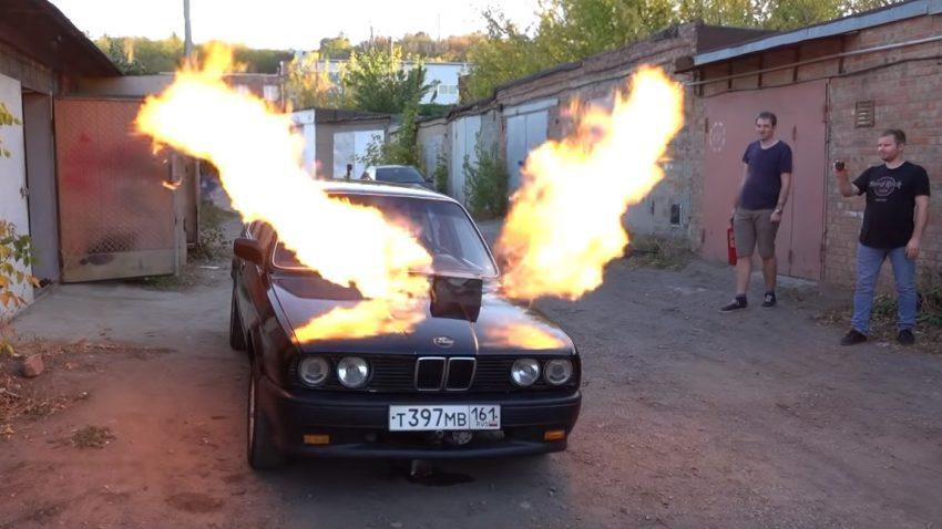 Dieser BMW fährt mit der Turbine aus einem russischen Kampfflugzeug