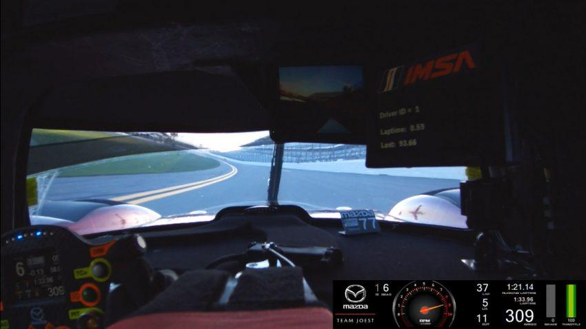 Onboard-Video: Wie Mazda den 26 Jahre alten Rundenrekord in Daytona gebrochen hat