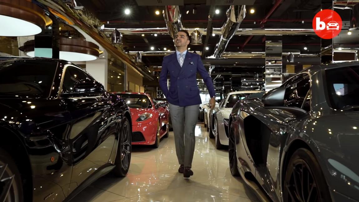 Dieses Dubaier Autohaus beherbergt Supercars im Wert von 40 Millionen Euro