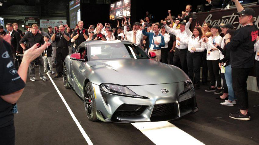 Allererster neuer Toyota Supra in Graz fertig gestellt