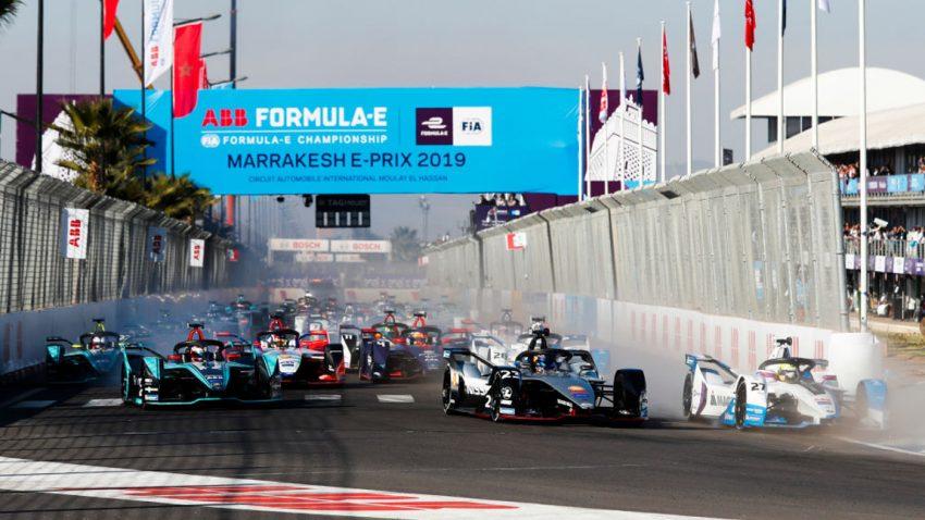 Spektakuläre Szenen in Marrakesch: Ereignisreiches zweites Rennen der Formel E-Saison