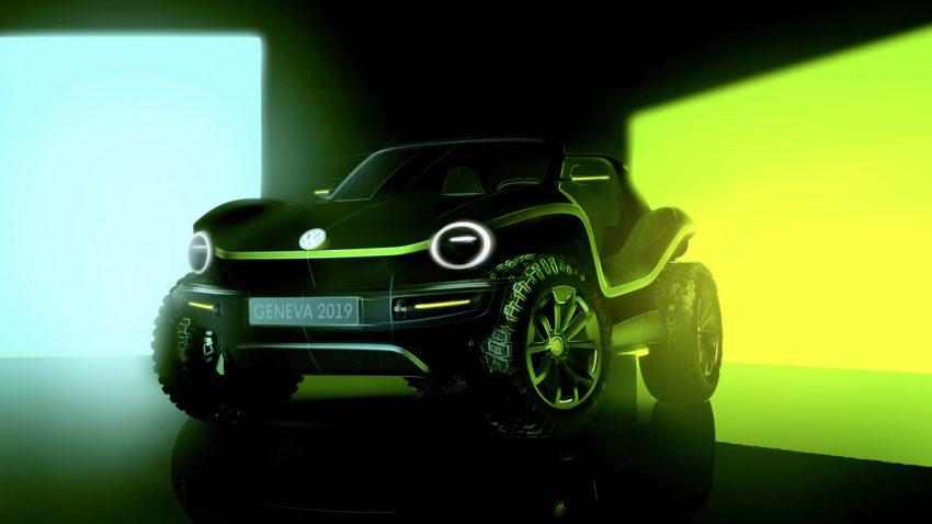 Der VW Buggy feiert ein Comeback – als Elektroauto