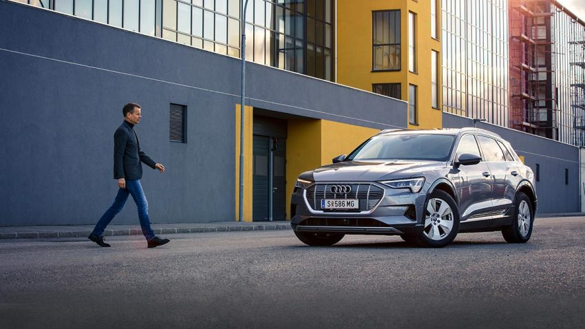 Audi e-tron: Weit haben wir's gebracht