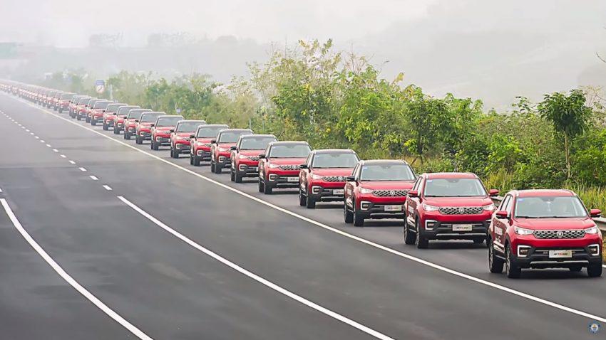 Rekord: Das ist die längste autonome Autokolonne der Welt