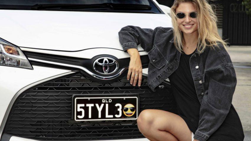 In Australien werden Emoji-Nummerntafeln eingeführt