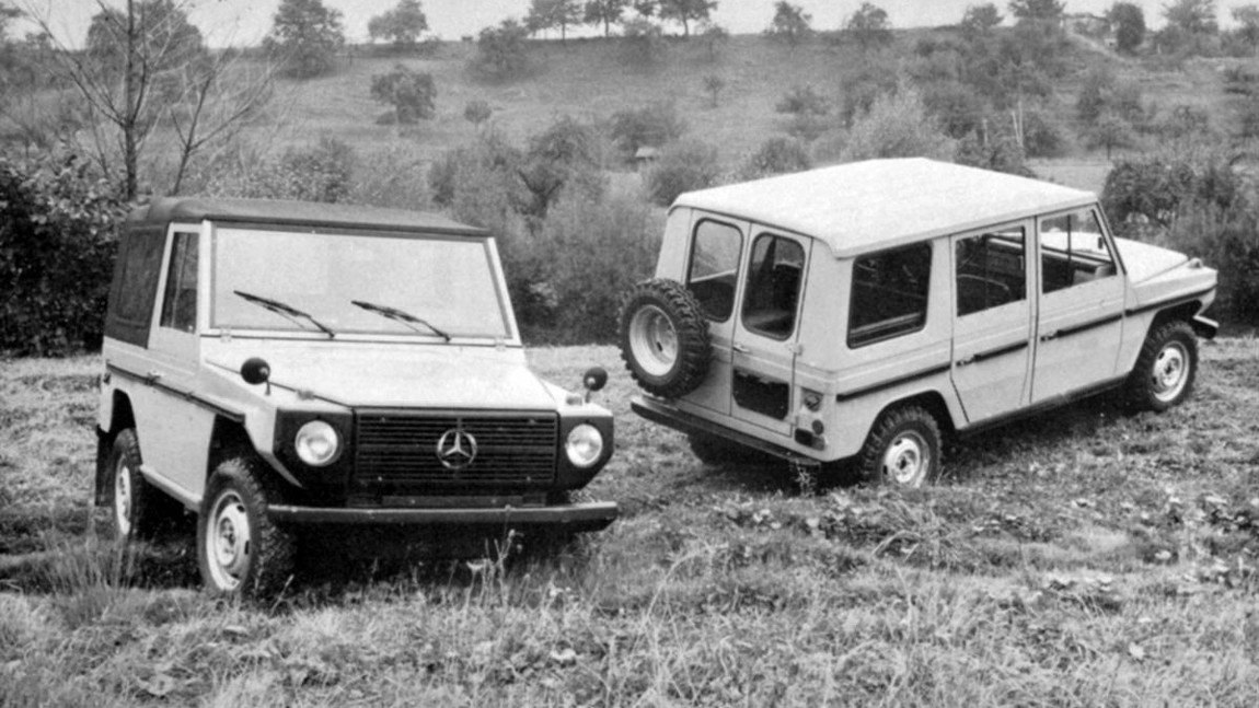 40 Jahre Mercedes G-Klasse
