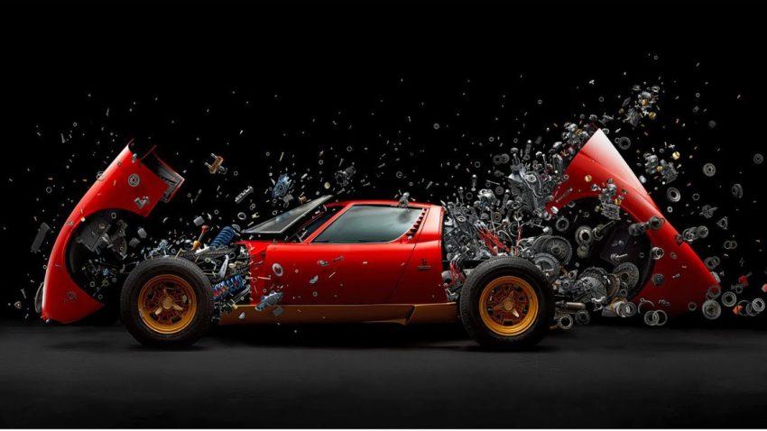 Der explodierende Lamborghini Miura SV