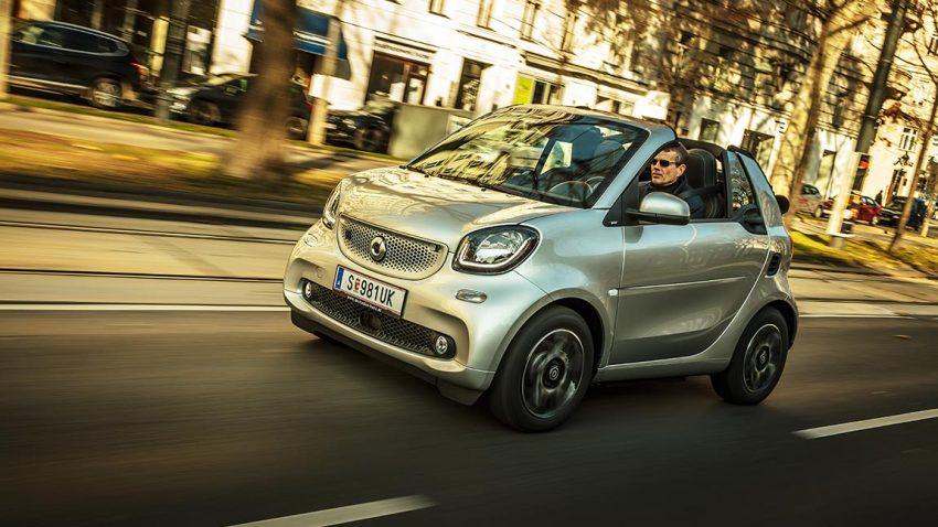 Test smart EQ fortwo cabrio: Der Kilometerfresser