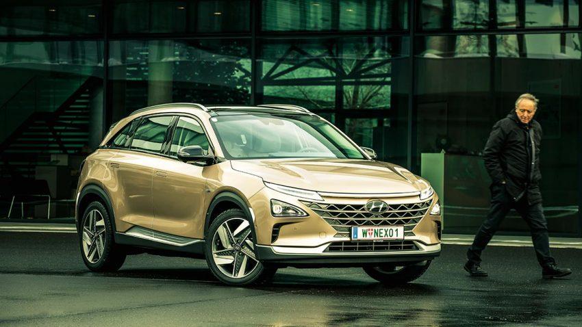 Test Hyundai Nexo: Strom schnellen