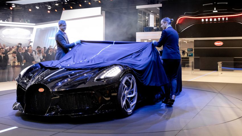 Bugatti La Voiture Noire: Dieses Einzelstück ist der teuerste Neuwagen der Welt