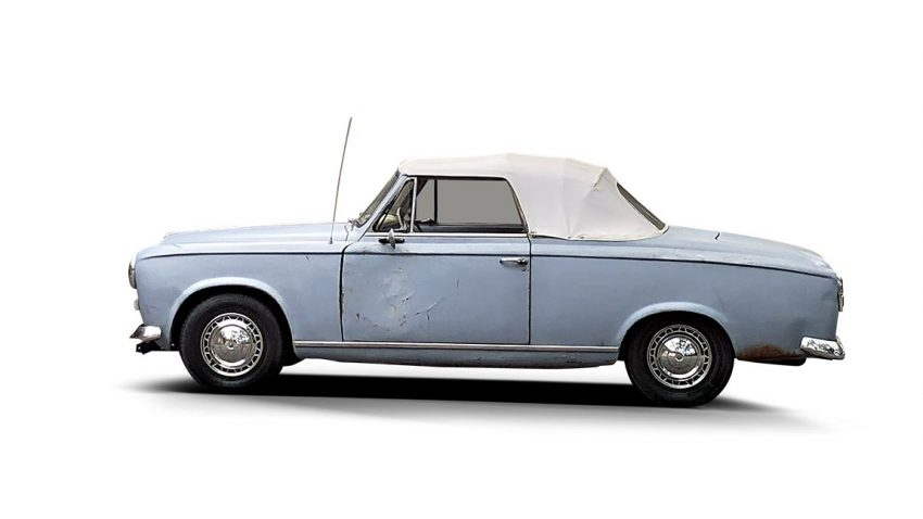 """Just One More Thing"": Begegnung mit Columbos Peugeot 403"
