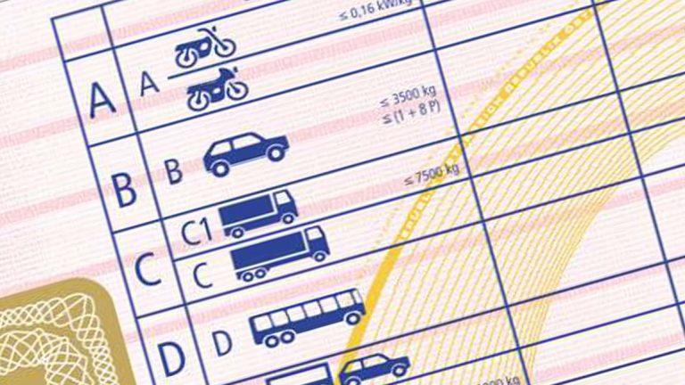 Praktische Fahrprüfung (Klasse B) Teil A: Überprüfungen am Fahrzeug