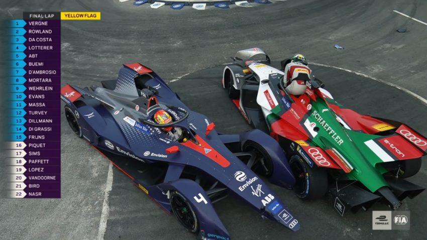 Turbulentes Formel E-Rennen in China: Sechster Sieger im sechsten Rennen der Saison