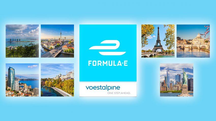 Rennkalender der Formel E - Saison 5 (2019)