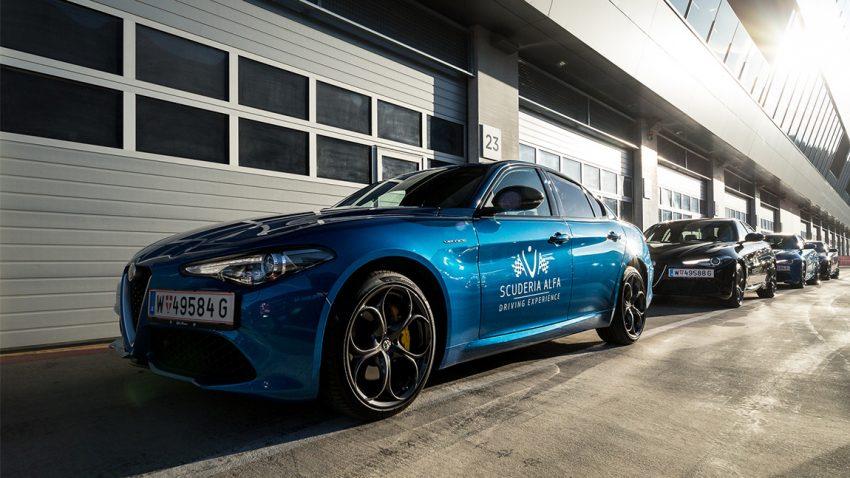 Seit über 100 Jahren auf der Ideallinie unterwegs – so fühlt sich Alfa Romeos Rennsporttechnologie an