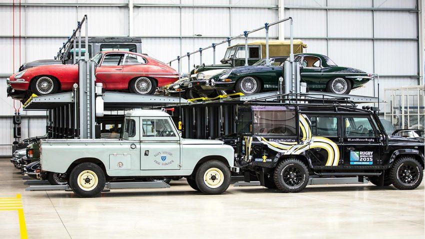 Zu Besuch bei Jaguar Land Rover Classic: Eine Geschichte der Liebe