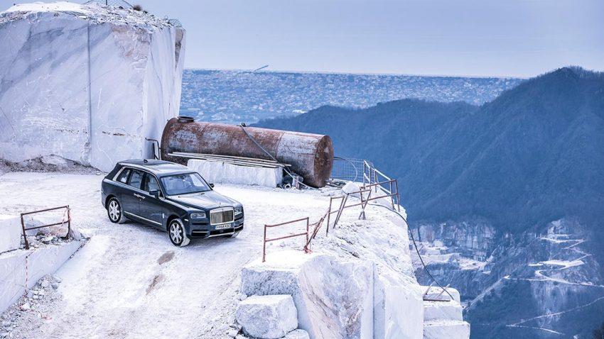 Rolls-Royce Cullinan: Im Steinreich