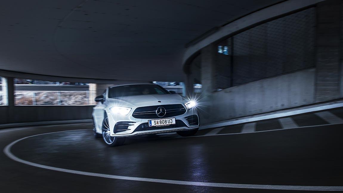 Test Mercedes AMG CLS 53 4Matic+: Auf halbem Weg fahrengeblieben