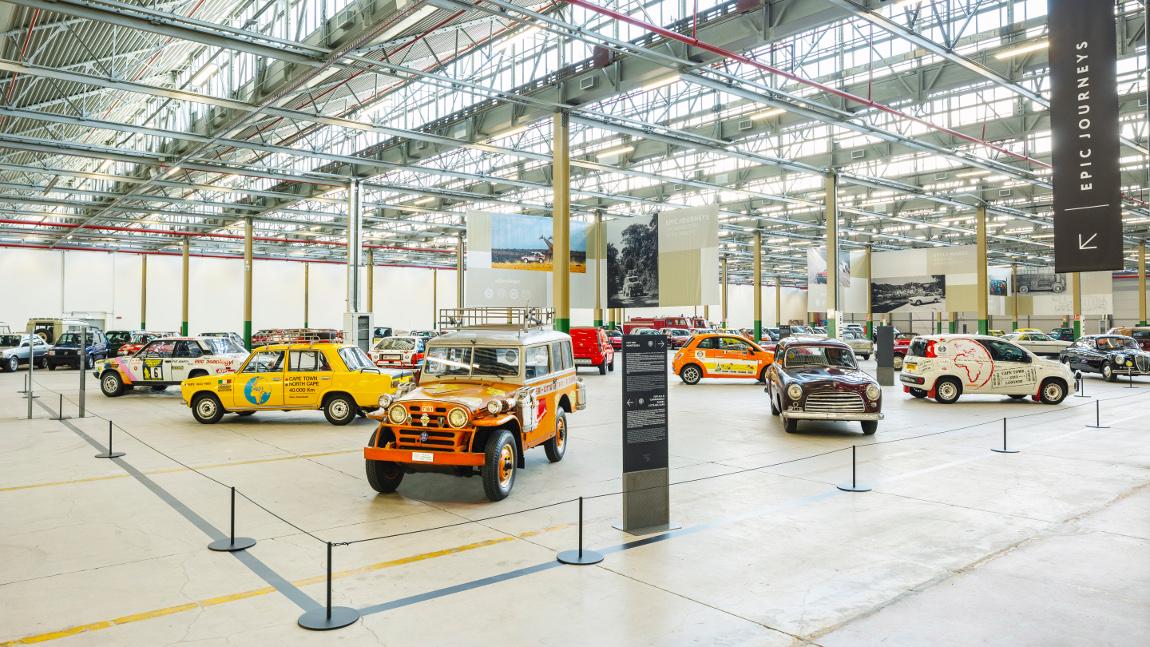 Fiat, Abarth, Lancia, Alfa Romeo: Diese gigantische Sammlung ist der Stoff, aus dem Oldtimer-Träume sind