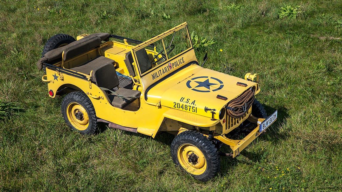 Kaufberatung Willys Jeep: Kriegsveteran