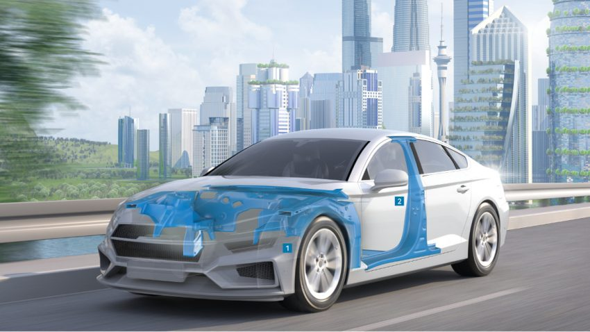 Leichtbau in der Elektromobilität
