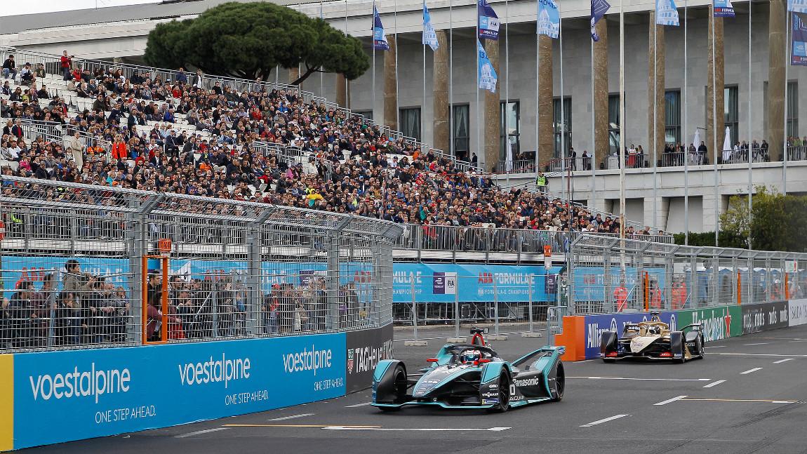Formel E in Rom: Siebenter Sieger im siebenten Rennen der Saison