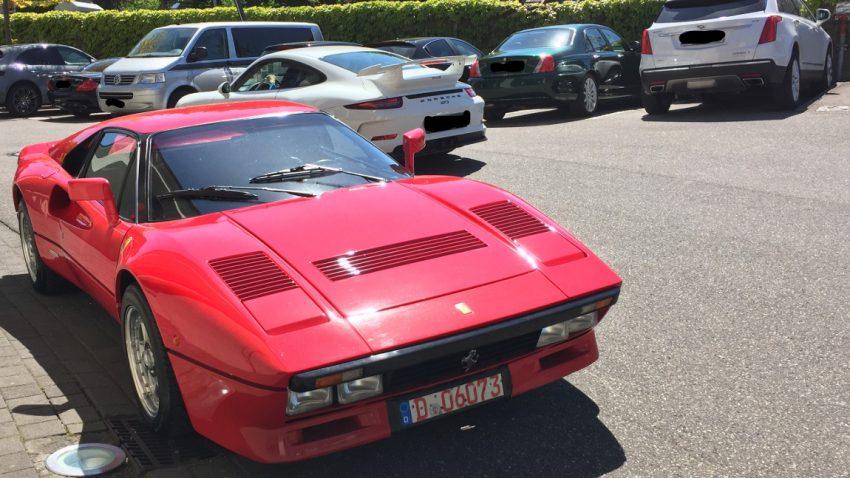 Ferrari 288 GTO bei Probefahrt gestohlen: Polizei Düsseldorf fahndet nach Täter