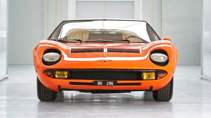 "Lamborghini fand Jahrzehnte lang verschollenen Miura P400 aus ""The Italian Job"""