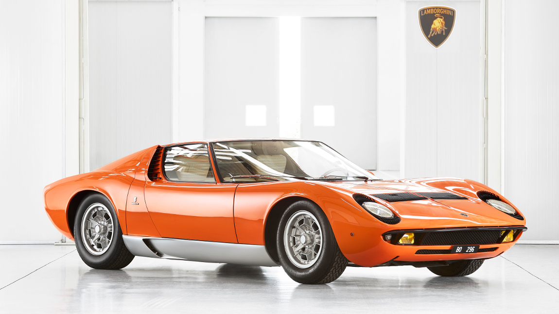"Lamborghini findet Jahrzehnte lang verschollenen Miura P400 aus ""The Italian Job"""