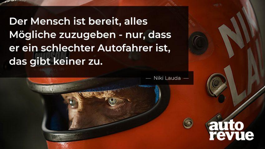 Zitate: 13 unvergessliche Sprüche von Niki Lauda