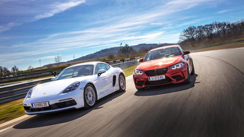 Porsche Cayman GTS vs. BMW M2 Competition: Skalpell und  Vorschlaghammer