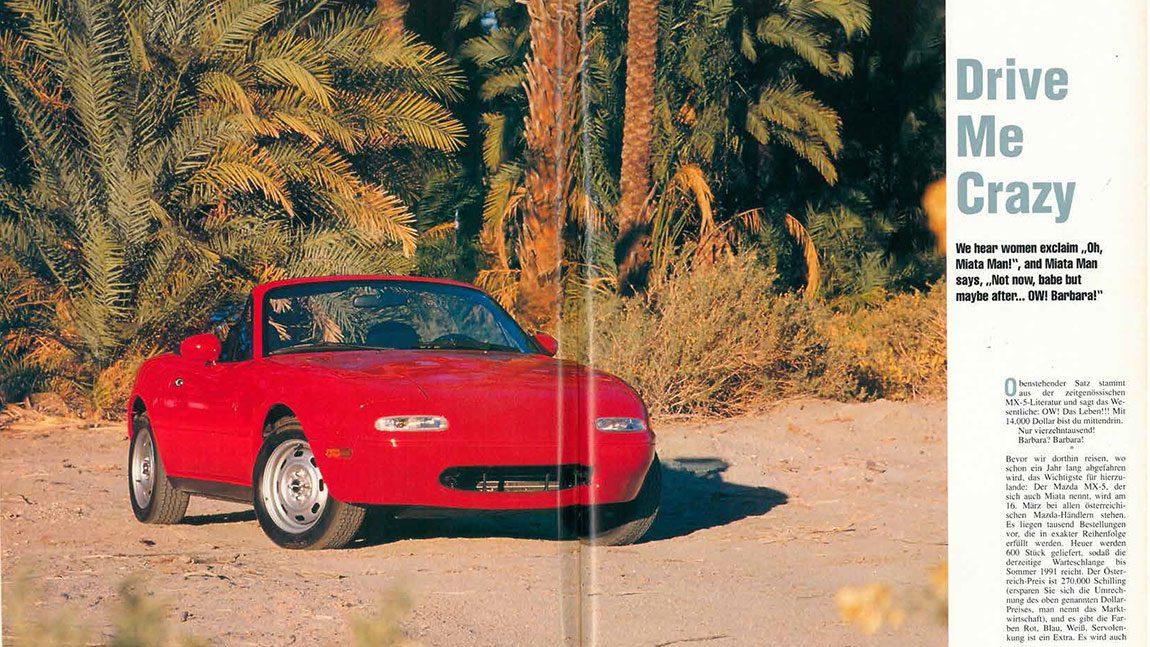 Mazda MX-5: Drive Me Crazy
