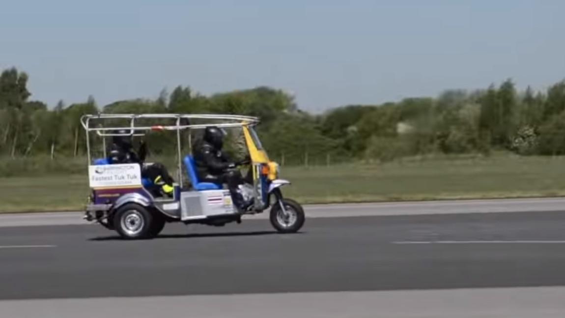 119 km/h: Das ist offiziell das schnellste Tuk-Tuk der Welt
