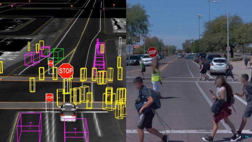 """Wie selbstfahrende Autos die Welt """"sehen"""""""
