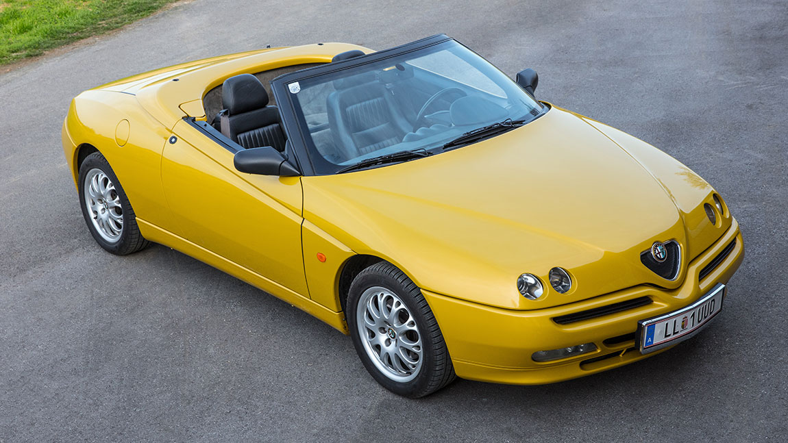 Kaufberatung Alfa Romeo Spider: Roll over Rost