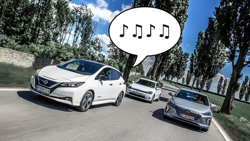 "AVAS: ""Lärmpflicht"" für Elektroautos ab 1. Juli 2019"