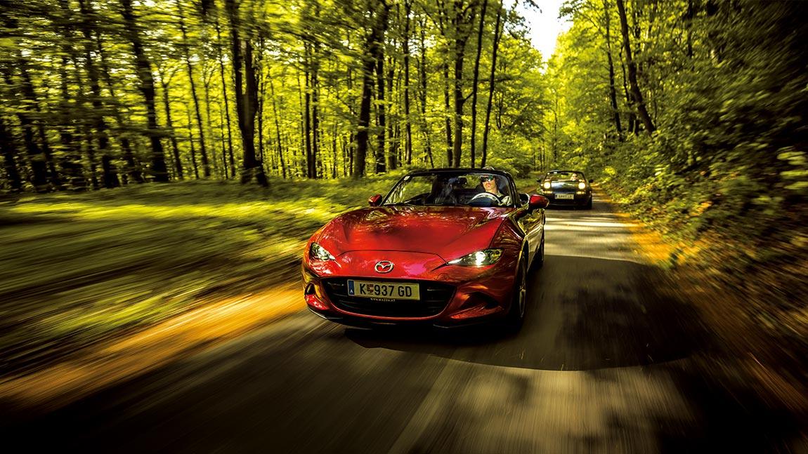 30 Jahre Mazda MX-5: Generationentreffen