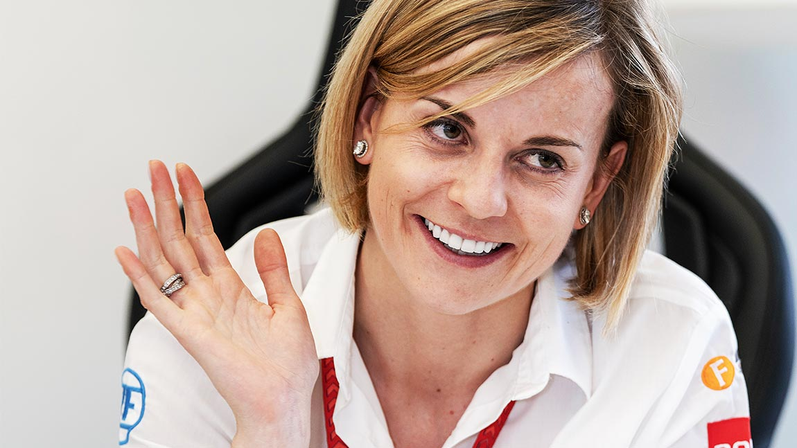 Frau am Strome: Susie Wolff im Interview