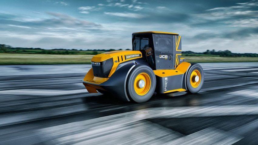 Neuer Weltrekord: Dieser Traktor fährt 217,5 km/h