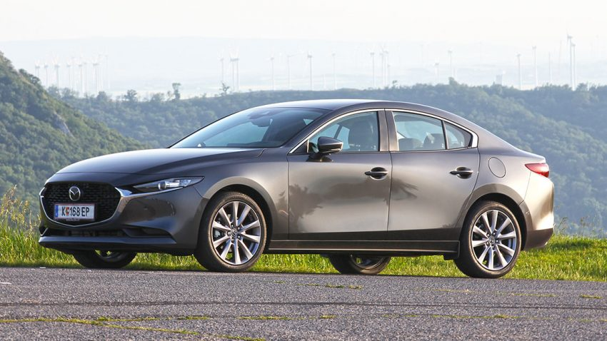 Mazda3: Ich bin kein schwarzer BMW