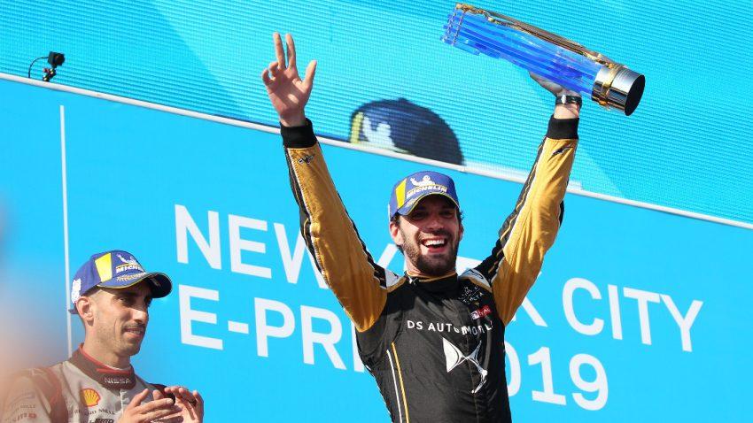 Jean-Eric Vergne ist Formel-E-Champion