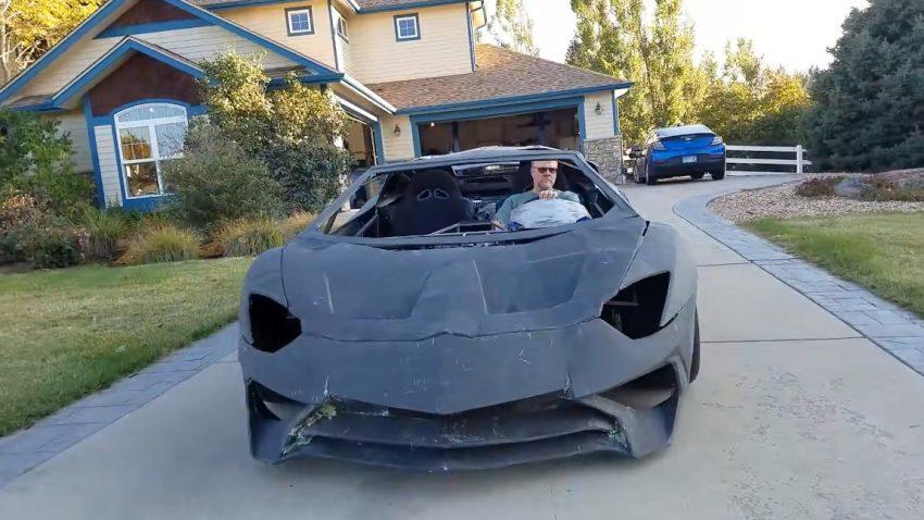"Der ""Lamborghini aus dem 3D-Drucker"" kann jetzt auch fahren"