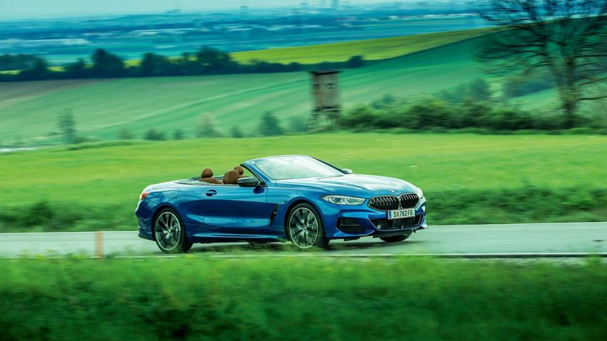 Test BMW 840d Cabrio: Baum, Haus, Kind, Auto