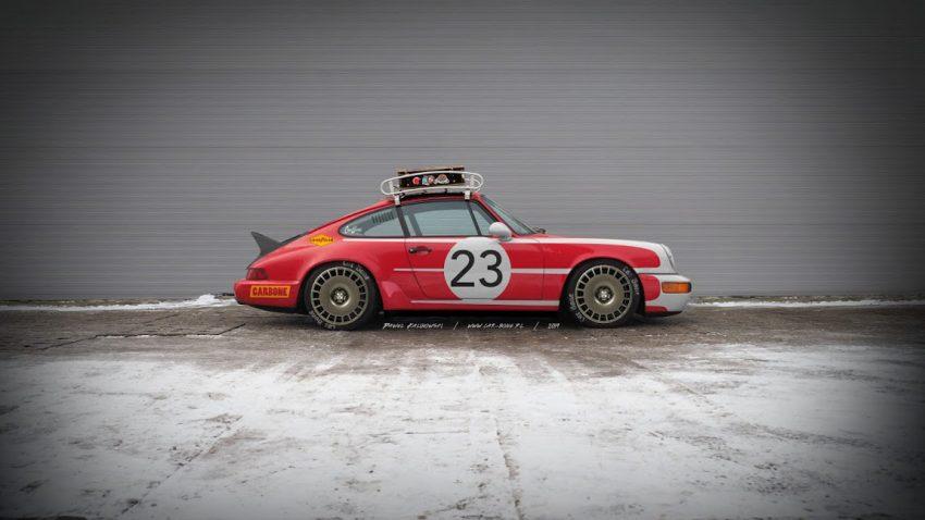 Project REDRUM: Der Restomod-Porsche 964 aus Polen