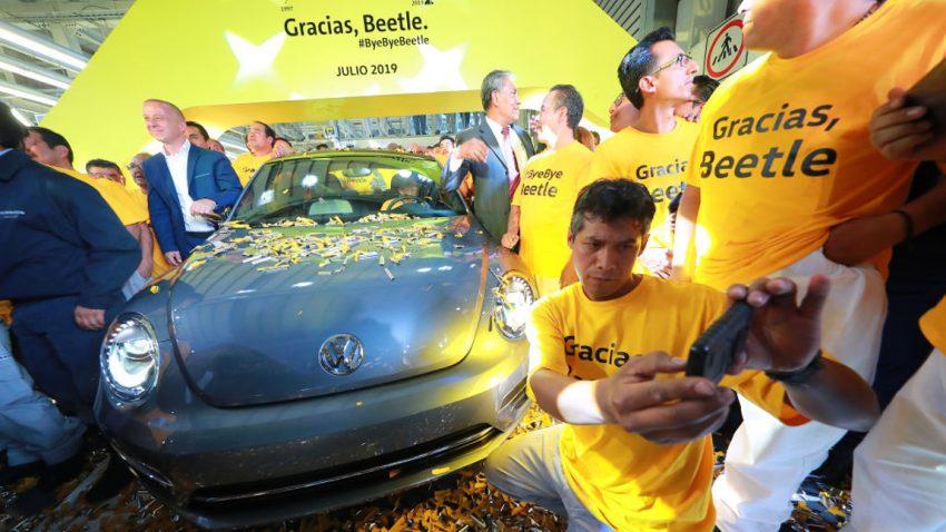 Bye, bye, Beetle: Letztes Exemplar des Käfer-Nachfolgers lief in Mexiko vom Band