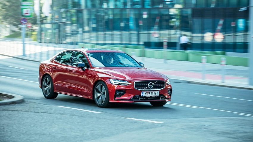 Test Volvo S60 T5: Keep Lane, detect Edge!