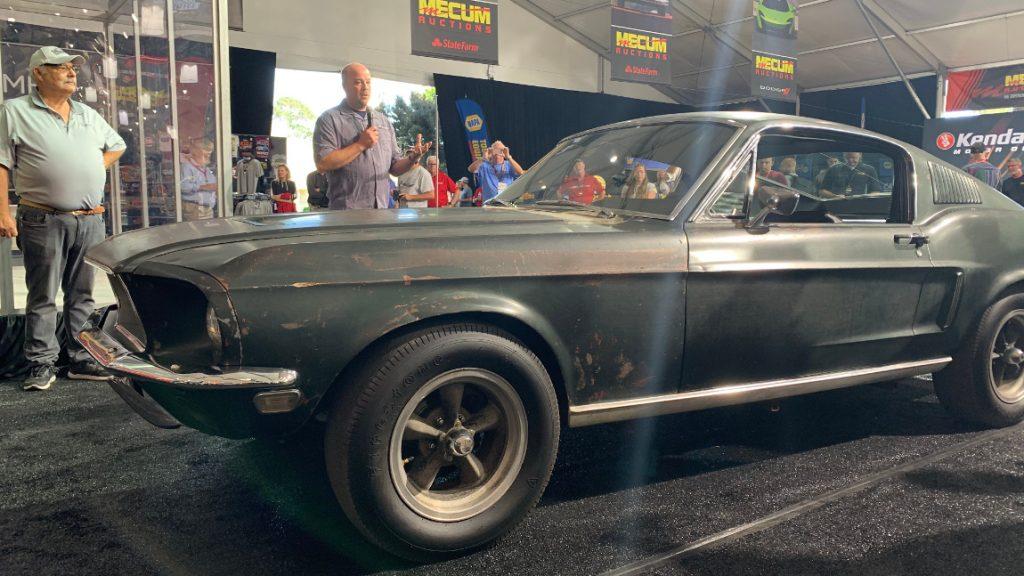 """3,74 Millionen Dollar für den originalen """"Bullitt""""-Mustang"""