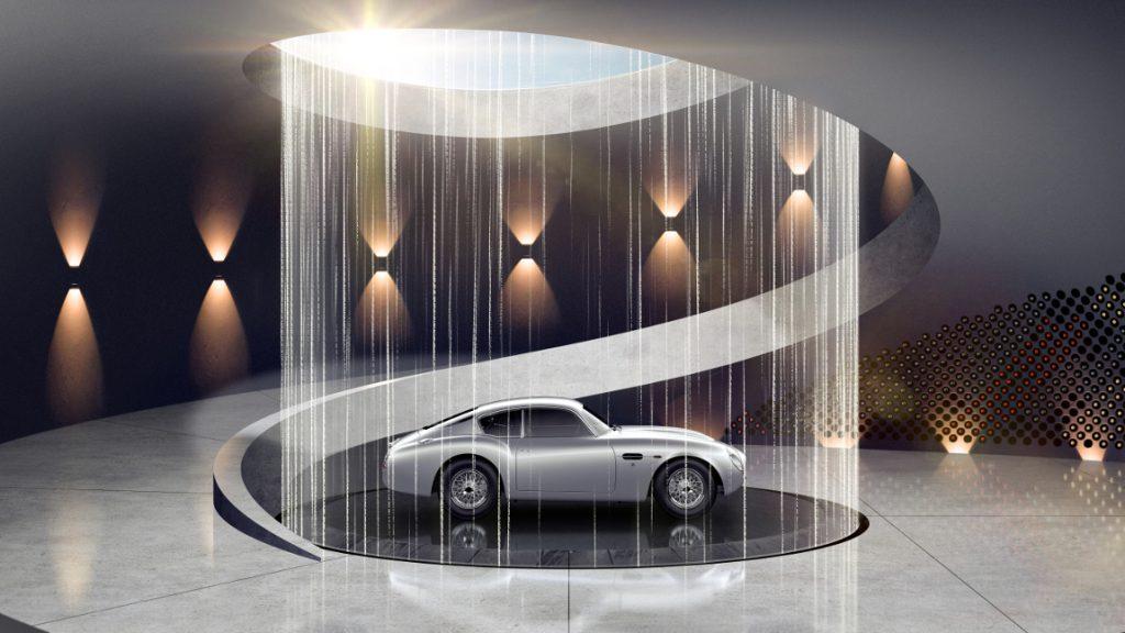 Langweilige Garage? Aston Martin hilft!